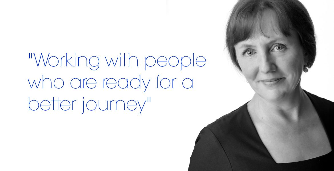 Angie Ruane - Working with people who are ready for a better jouney